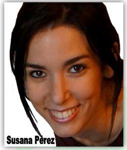 Susana Perez, alumna de reflexologia