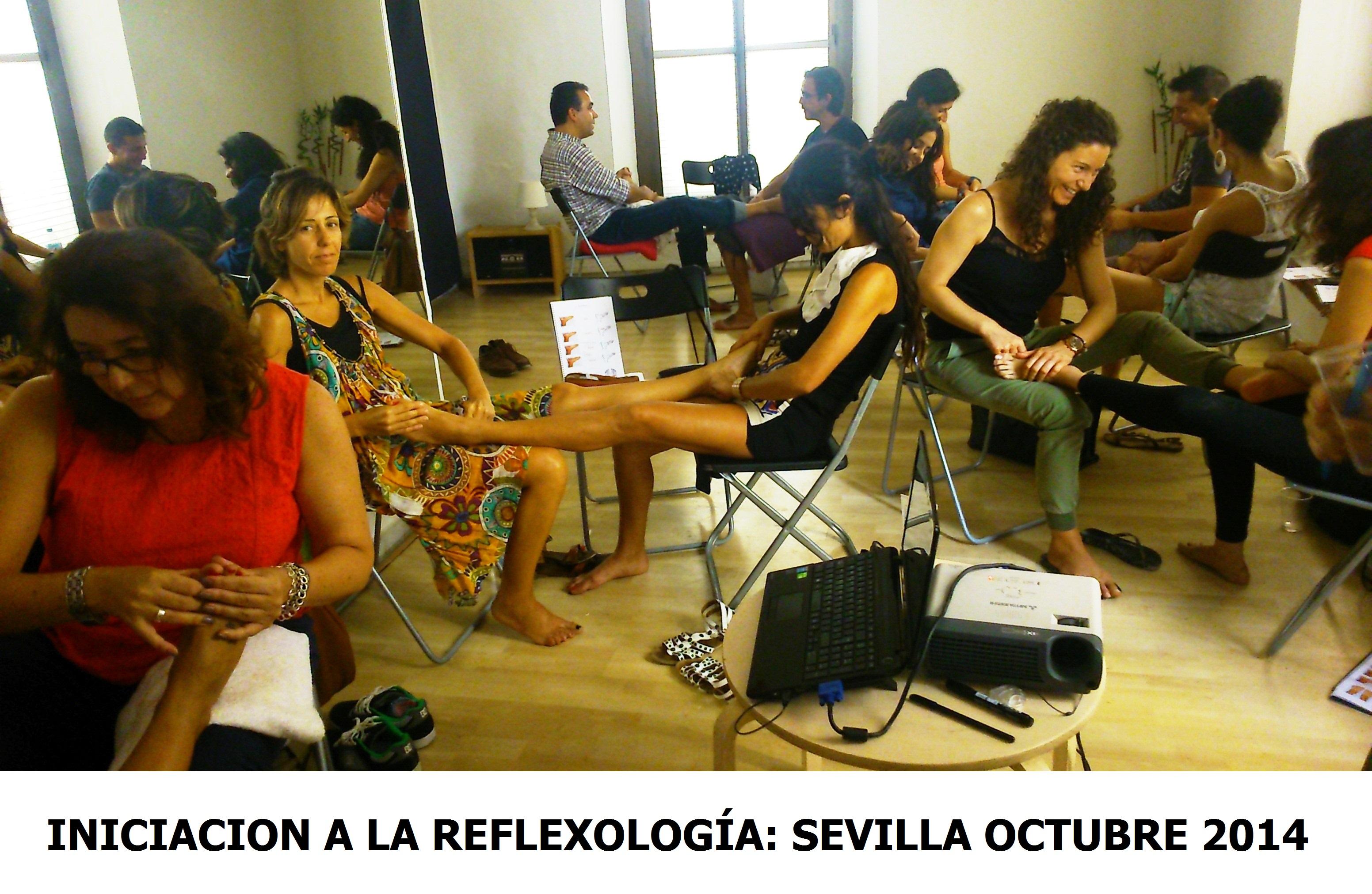 REFLEXOLOGÍA EN SEVILLA: Finalizamos el ciclo formativo Iniciación a la Reflexología