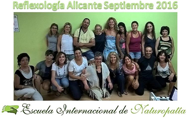 16 nuevos reflexólogos en Alicante