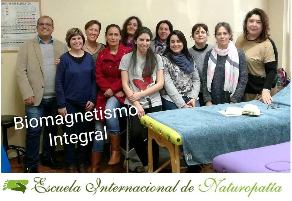 Finalizó el Curso Profesional de Biomagnetismo Integral en Granada