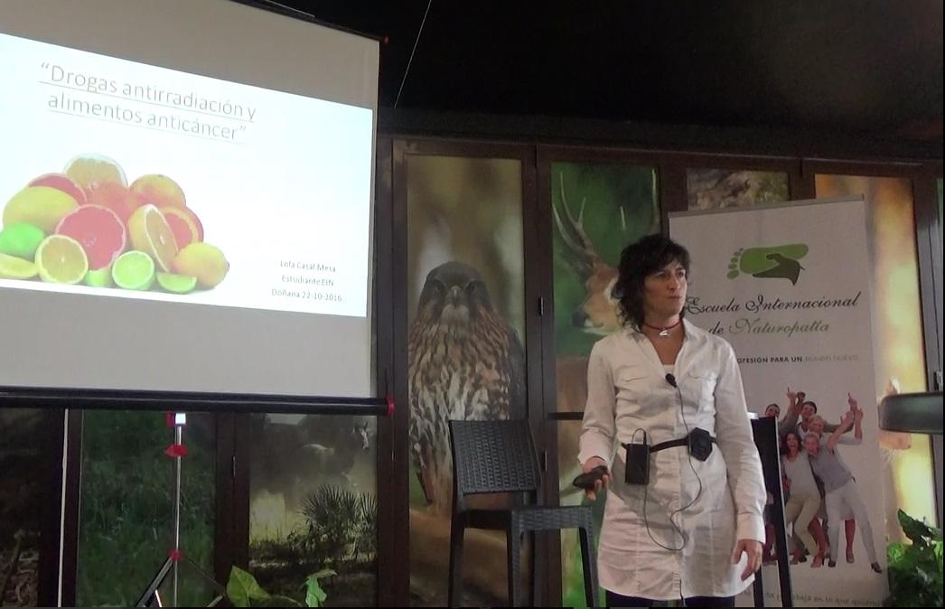 Lola Casal: Drogas Anti-radiación y Alimentación Anti-cáncer