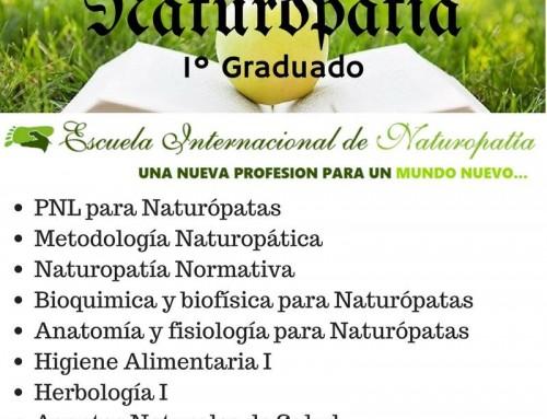 Estudiar 1º Graduado en Naturopatía