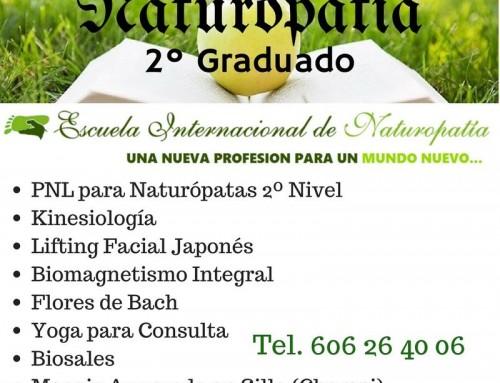 Estudiar 2º Graduado en Naturopatía