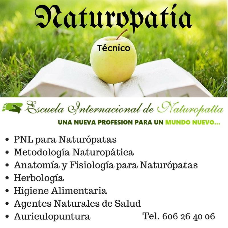 Abierto el Plazo de Matriculación Técnico en Naturopatía