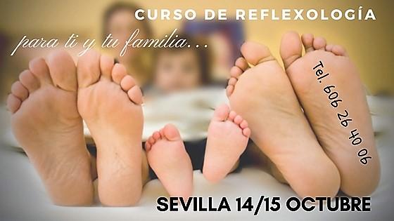 Taller Reflexología en Sevilla