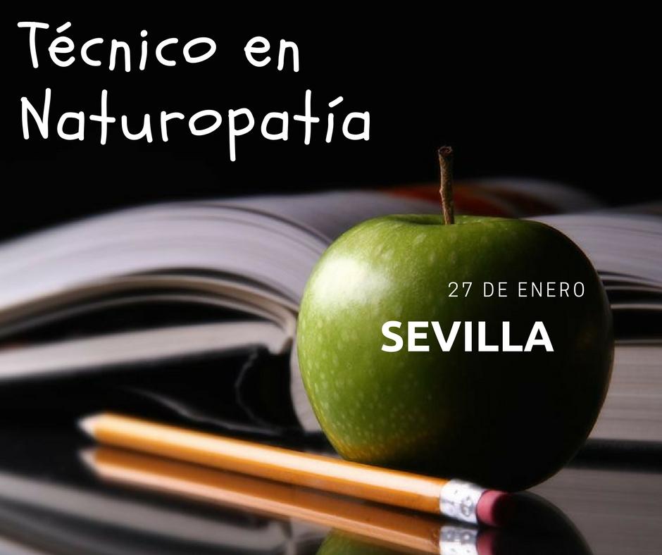 Naturopatía en Sevilla…ahora en Enero