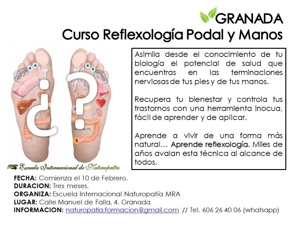 Granada: Curso de Reflexología