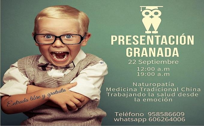 Granada Presentación Cursos