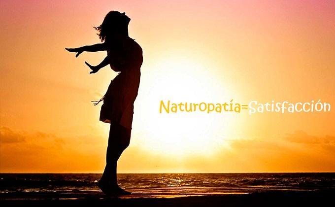 Naturopatía, Satisfacción es la clave