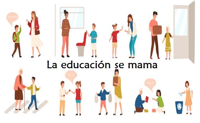 La Educación se mama…por Araceli Flores de Alba
