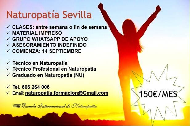 Curso de Naturopatía en Sevilla