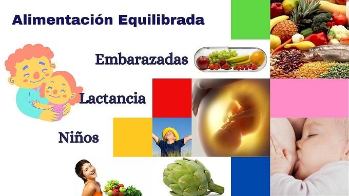 🍐 Curso Alimentación Equilibrada para Embarazo, Lactancia y Primera Infancia