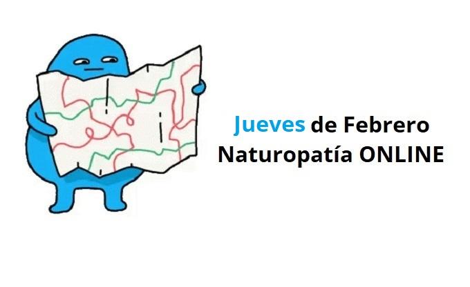 Cursos Naturopatía Jueves Febrero