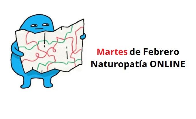 Cursos Naturopatía Martes Febrero