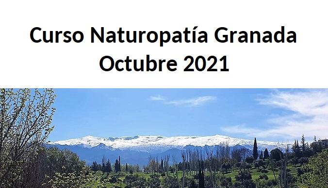 Curso de Naturopatía en Granada: octubre 2021